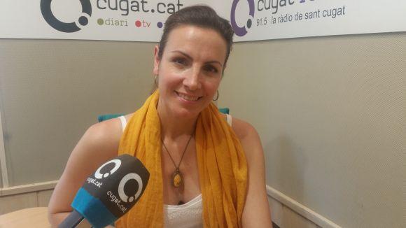 Cristina Casale a l'Estudi 1 de Cugat.cat