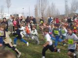 Els nens van recórrer diferents circuits al Parc de la Pollancreda.