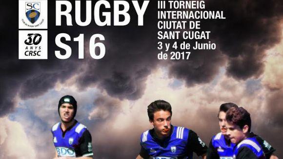 El cartell del torneig / Font: Rugby Sant Cugat