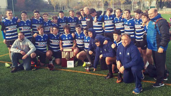 El Rugby Sant Cugat s'erigeix vencedor de la 20a edició del Torneig Melé amb tres títols