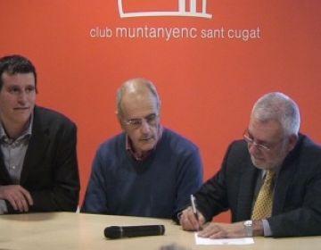 Paco Cruces assumeix la presidència del CMSC disposat a potenciar la relació entre seccions