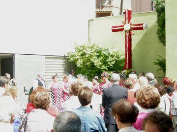 Tot a punt per a la celebració de la Cruz de Mayo al Centro Popular Andaluz