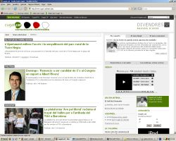 El vídeo i una nova interfície, principals novetats de Cugat.cat
