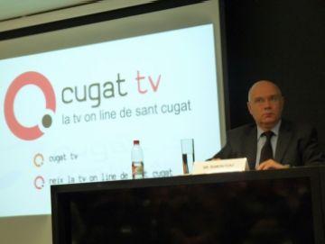 Els grups polítics creuen que amb Cugat tv la ciutat és pionera en l'àmbit de la comunicació