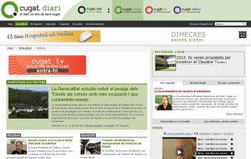 Cugat.cat és el primer portal d'informació local en català