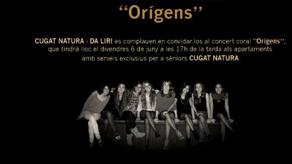 Da Liri porta la música coral a Cugat Natura amb el concert 'Orígens'