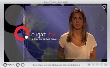 L'alcalde considera Cugat.cat com un referent pels mitjans de comunicació locals