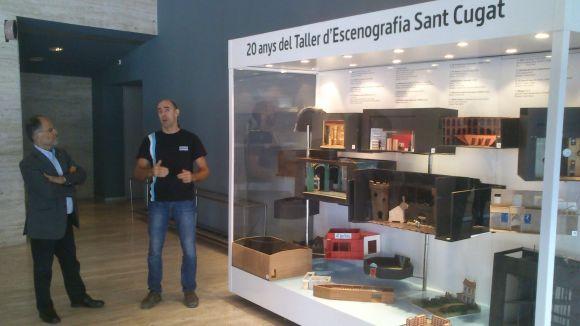 El Taller d'Escenografia Sant Cugat obre les portes amb una mostra al Teatre-Auditori