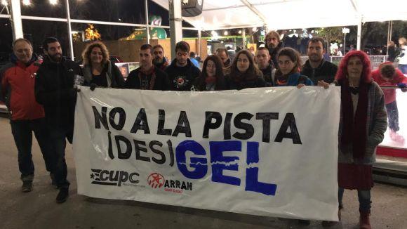 La CUP i Arran no volen pistes de gel a Sant Cugat