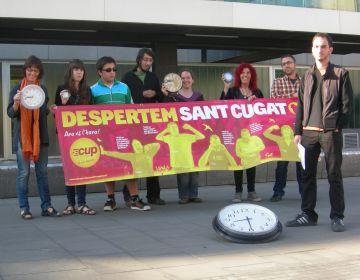La CUP fa una crida als santcugatencs per 'despertar Sant Cugat'