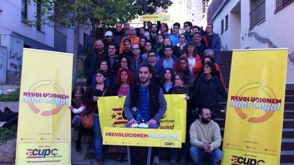 CUP-PC presenta una llista de 'ciutadans implicats' per revolucionar Sant Cugat