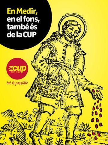 La CUP es fa seu el personatge d'en Medir