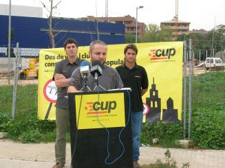 La CUP commemorarà l'Onze de Setembre alertant d'un sistema que 'només aporta crisi'