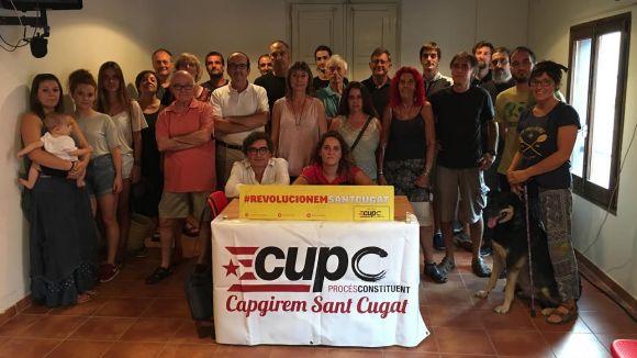 La CUP i Procés Constituent escenifiquen unitat després de la sortida de Defranc