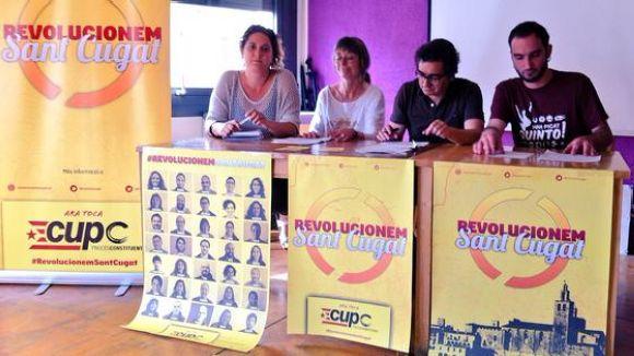 La participació ciutadana vertebra el programa electoral de la CUP-PC
