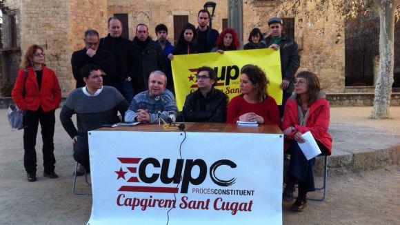 Un dels actes recents de la CUP per a les municipals