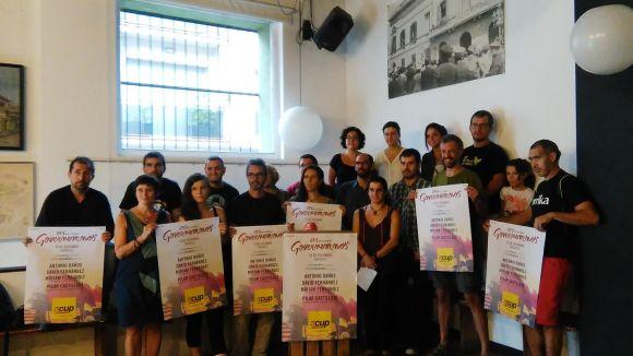 Regidors de les 'candidatures rupturistes' del Vallès, amb la  CUP-Crida Constituent