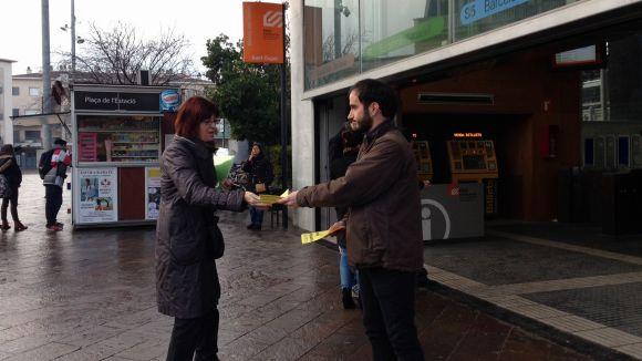 La CUP inicia una campanya contra l'augment 'abusiu' del transport públic