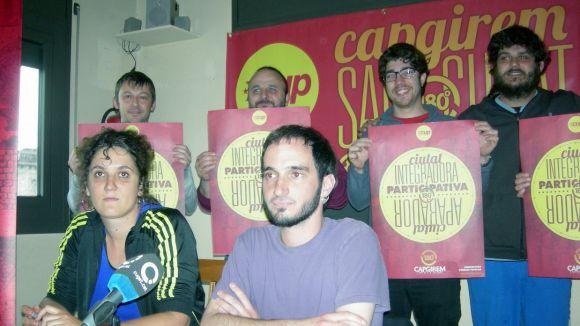 La CUP convida els santcugatencs a capgirar la ciutat amb un procés participatiu