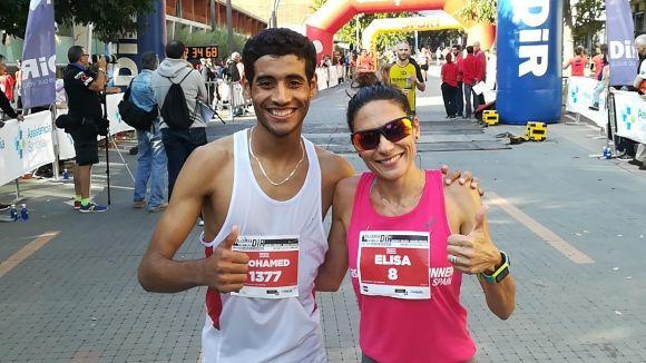 Mohamed El Ghozoumy i Elisa Melilli han guanyat la Cursa DiR- Mossos d'Esquadra