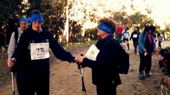 Cursa adaptada que es farà a Valldoreix per a la Marató de TV3 / Font: Fundació Anna Vives