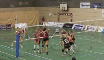 El Club Voleibol Sant Cugat perd davant el Pinguela i no coneix la victòria el 2012