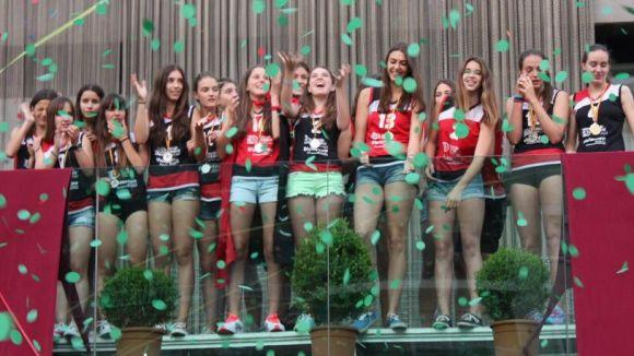 El Voleibol Sant Cugat dedica el pregó a tothom que fa viu l'esport a la ciutat