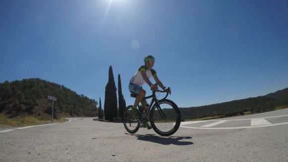 Dani Nafría cobreix en bici Valldoreix-Andorra en 10 hores
