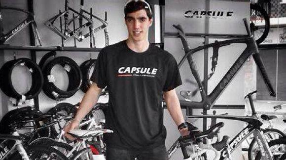 Dani Nafría afronta la Duatló de Granollers estrenant bicicleta