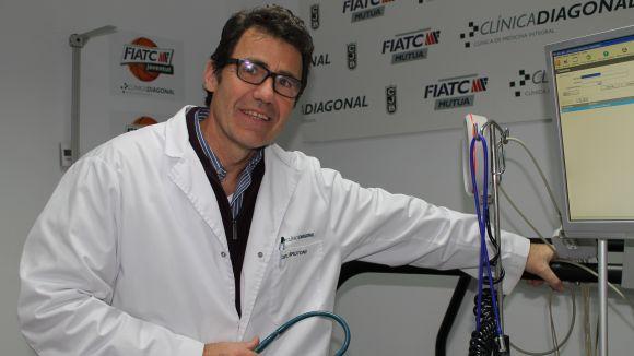 Danel Brotons serà el ponent de la conferència 'Recuperació muscular' / Font: Clinica Diagonal