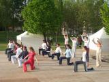 El parc Ramon Barnils ha acollit els tallers de dansa