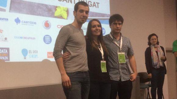 L'equip JTeam guanya la primera Datathon Sant Cugat