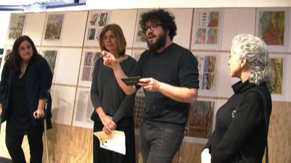 El Maristany inaugura l'exposició 'Caminar sobre el gel', que reflexiona sobre la funcionalitat de l'art