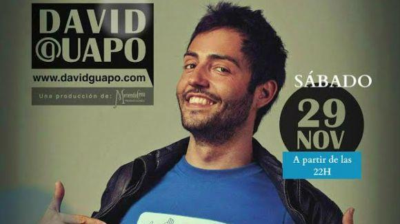 El monologuista David Guapo actua avui a Sant Cugat