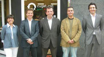 Representants dels partits han debatut sobre economia a Cugat.cat