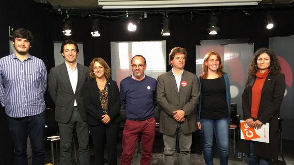 La relació entre Catalunya i Espanya centra el debat electoral de Cugat.cat