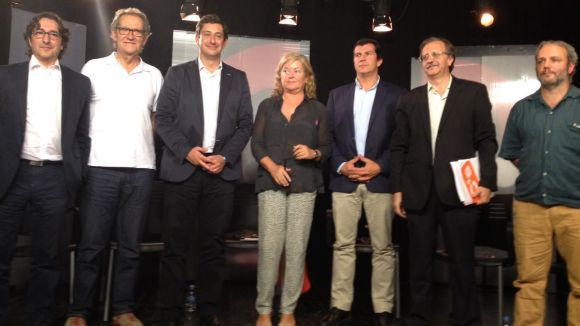 El procés independentista centra el debat electoral de Cugat.cat