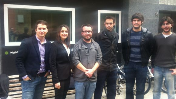 Confrontació política al debat jove de Cugat.cat
