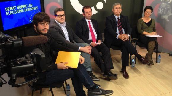 El model econòmic i l'encaix de Catalunya a Europa centren el debat de Cugat.cat