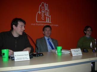 L'optimisme en la futura protecció de Torre Negra centra el primer debat de l'ADENC