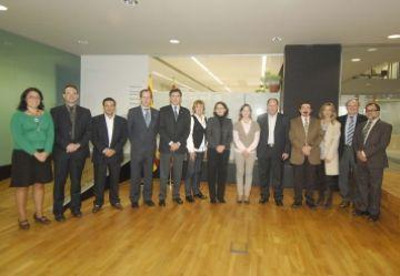 Una delegació d'empresaris i comerciants de Cantàbria visita Sant Cugat per estudiar-ne el model comercial