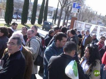 Els treballadors de Delphi es concentren avui al Parlament