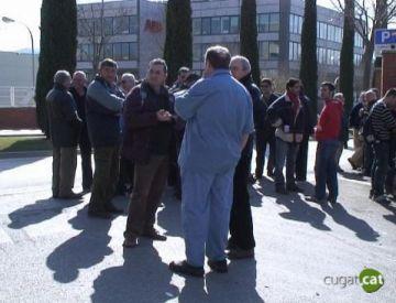 Trencades les negociacions entre la direcció i els treballadors de Delphi
