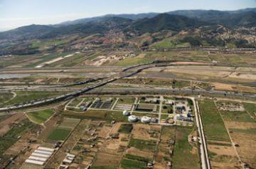 Millores en la depuradora de Sant Feliu de Llobregat, que tracta l'aigua residual de la Floresta