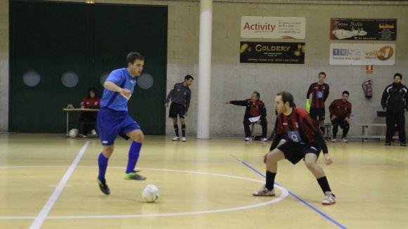 Futbol Sala Sant Cugat i Olímpyc protagonitzen el derbi dels necessitats