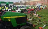 L'Ajuntament ha presentat els vehicles que s'encarreguen del manteniment dels Parcs i Jardins