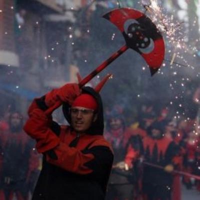 2010: Els Diables de Sant Cugat celebren 20 anys amb una gran festa