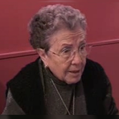 Un any de la mort de la fundadora del Grup Esperantista de Sant Cugat, Trinitat Garcia