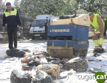 La Policia Local destrueix milers d'objectes il·legals decomissats