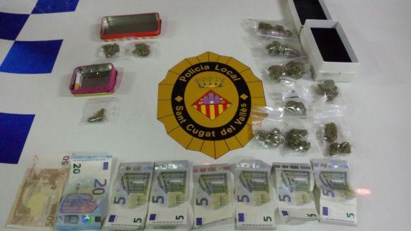 Detingut un home per un presumpte delicte contra la salut pública lligat la distribució de marihuana